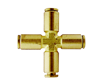 QCSC Series - Brass Push-In