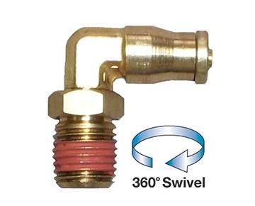 QCSE-DOT Series - Push-In Brass