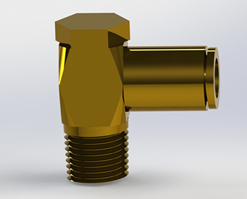 QCSEB Series - Brass Push-In