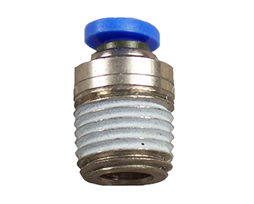QCSMH Series - Tube x Male Thread - Heavy Duty - Metric