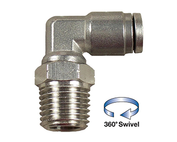 QCUEW Series - Stainless Steel Push-In