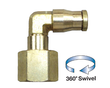 QFES Series - Brass Push-In