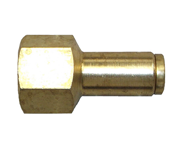 QFS Series - Brass Push-In