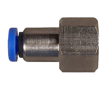 QFSMF Series - Tube x Female Thread - Metric