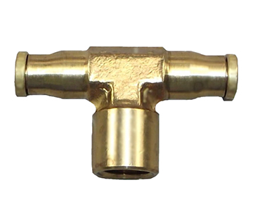 QFT Series - Brass Push-In