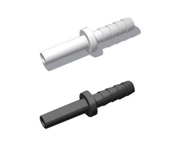 QTHG Series - Hose Barb x Stem Adapter - Polypropylene