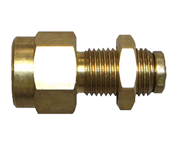 QUCBF-DOT Series - Push-In Brass