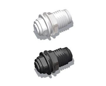 QUCBG Series - Union Bulkhead - Polypropylene
