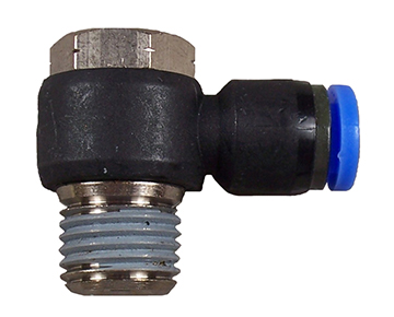 QUEPM Series - Tube x Male Swivel Elbow - Metric