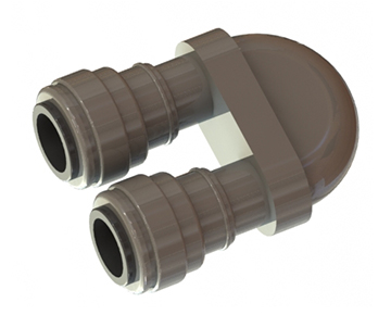 Push-In Gray Acetal Fittings