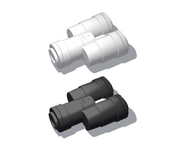 "QYG Series - Two Way Divider ""Y"" Connector - Polypropylene"