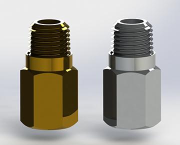 RVL Series - Metal Inline Relief Valve