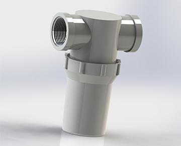 Plastic Serviceable Filters