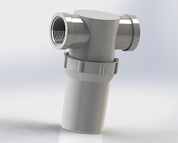 Standard Strainer Filter Bowls
