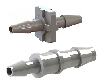 VC Series - Straight Tube Connectors